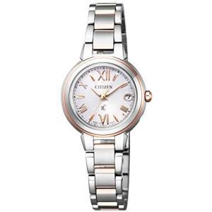 [シチズン] 腕時計 クロスシー エコ・ドライブ 電波時計 ES9434-53W レディース マルチカラー (文字盤色-ピンク) musubi-syop