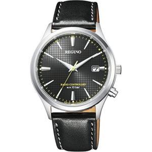 シチズン 腕時計 レグノ ソーラーテック電波時計 KL8-911-50 メンズ (文字盤色-ブラック One Size) musubi-syop
