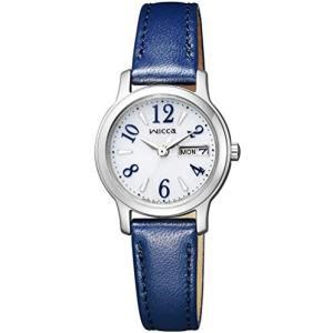[シチズン] 腕時計 ウィッカ ソーラーテック KH3-410-10 レディース ブルー (文字盤色-ホワイト) musubi-syop