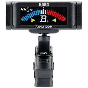 KORG 100時間連続駆動 管弦楽器用 クリップチューナー AW-LT100M カラー表示 単4電池1本 軽量 コンパクト musubi-syop