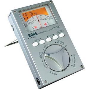 KORG クロマチックチューナー 針式メーター OT-120 吹奏楽 ブラスバンド オーケストラ どんなコンサート・ピッチにも対応 100時間連続稼働 musubi-syop