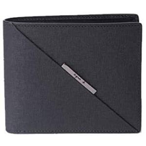 (アニエスベー)ボヤージュ VOYAGE 財布 メンズ 折り財布 FH10‐01 ブラック (ブラック) musubi-syop