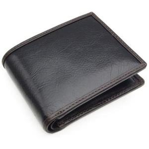 (コンプレックスガーデンズ) COMPLEX GARDENS 止観/シカンシリーズ 二つ折り財布 4023 (ブラック×チョコ(10))(ブラック) musubi-syop