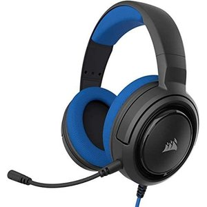 Corsair ゲーミングヘッドセット HS35 STEREO Stereo Gaming Headset -Blue- PC PS4 (ブルー) musubi-syop