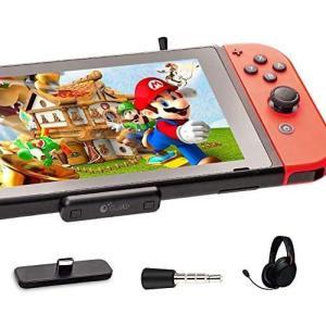 Gulikit Bluetooth オーディオアダプター 対応 Nintendo Switch PS4 Switch lite PC用 超薄 遅延なし musubi-syop