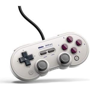 8bitdo SN30 Pro USBゲームパッド有線ゲームコントローラ用 Windows/Steam/ラズベリーパイ/任天堂Switch (G Classic エディション)|musubi-syop