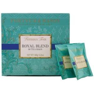 フォートナム&メイソン 英国 Fortnum&Mason (フォートナム&メイソン) ロイヤルブレンド 50ティーバッグ 紅茶 Royal Blend|musubi-syop