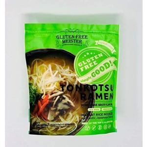 グルテンフリーインスタントとんこつ風ラーメン6食スープ付|musubi-syop