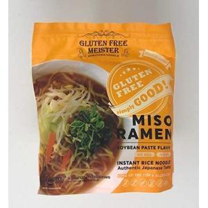グルテンフリーインスタントみそラーメン 6食スープ付き|musubi-syop