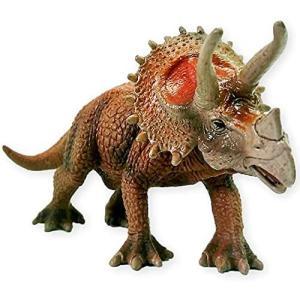 (アウプル) トリケラトプス リアル フィギュア シリーズ 恐竜 ダイナソー おもちゃ 男の子 女の子 玩具 迫力 PVC製 開閉(トリケラトプス)|musubi-syop