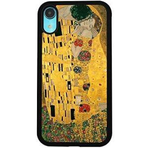 クリムト 接吻 スマホケース カバー ケース アート シリーズ ヌーヴォー 世界の名画 絵画 芸術 (クリムト 接吻 iPhone 7/8)|musubi-syop