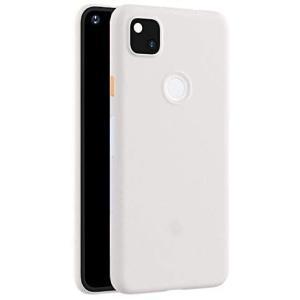Pixel5ケース/カバー シンプル 耐衝撃 背面半透明 保護ケース グーグル ピクセル5 ソフトケース/カバー おしゃれ スマフォ (ホワイト)|musubi-syop