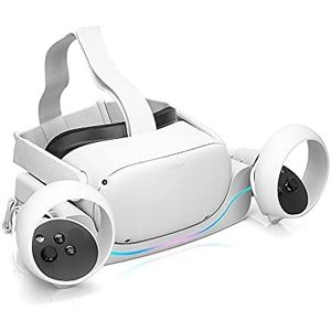 RGEEK 2021 Oculus Quest 2 充電ドックステーション Oculus Quest 2 充電ステーション (レッド) musubi-syop