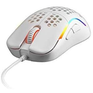 HK Gaming NAOS M ゲーミングマウスPixart 3360-60g軽量ハニカムデザイン搭載 12 (白い 中 | Naos-M)|musubi-syop
