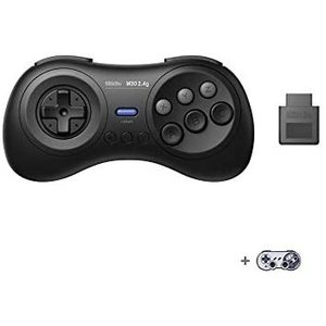 8BitDo M30 2.4G Wireless GamePad for Mega Drive ブラック|musubi-syop