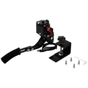 PC USB ハンドブレーキ リニアハンドブレーキをシミュレートロジクール G27 G29のレースゲーム用 14ビット(Black Small)|musubi-syop