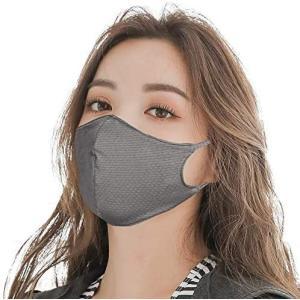 マスク 水着素材( 5枚組 Mサイズ 小さめ お子様女性など小顔の方 )ひんやり 涼しい 接触冷感 夏 夏用マスク 洗濯 洗える 水着 (女性用)|musubi-syop