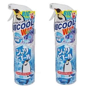 クロイスターズ シャツヒエール BIGサイズ500ml ストロングミント 消臭除菌 EXTRAメントールで超COOL 2個セット|musubi-syop