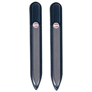 ブラジェク ガラス爪やすり 140mm 片面タイプ (ブラジェク ガラス爪やすり 140mm 2個セット) musubi-syop