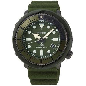 セイコー]SEIKO 腕時計 PROSPEX PADI SOLAR DIVER'S プロスペックス ソーラー ダイバー SNE535P1(グリーン) musubi-syop