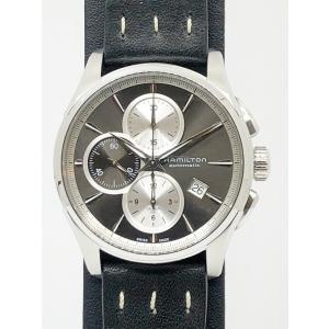 【HAMILTON☆ハミルトン】 ジャズマスタークロノ メンズ腕時計 自動巻き SS 付属品:無し ...
