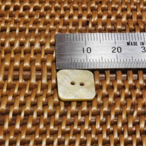 ボタン バリ島雑貨 正方形型/2穴/φ15mm/t1.5mm 1個入|mutasan|02