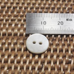 貝ボタン バリ島雑貨 丸型/2穴/φ13mm/t1.5mm 1個入|mutasan|02