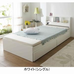 売切り終了!在庫処分品 送料無料! 収納付天然木すのこベッド QD 木製ベッド 収納ベッド シングルベッド 棚付き すのこ 【大型】の写真