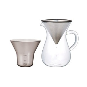 8%OFF対象商品!ドリッパー キントー KINTO スローコーヒースタイル コーヒーカラフェセット(コーヒーメーカー) 600ml mutow
