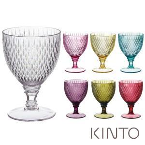キントー KINTO ロゼット ワイングラス 250ml 割れにくい プラスティック製 ROSETTE|mutow