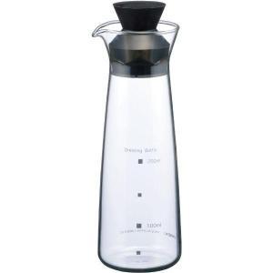 ガラス瓶 キャニスター イワキ iwaki ドレッシングボトル K5014-BK|mutow
