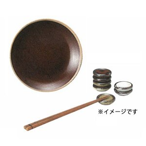 箸置き マイスターハンド MEISTER HAND エン 394032 箸置き 飴 4.5cm ブラウン EN|mutow