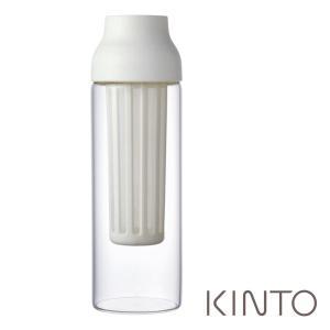 コーヒーポット キントー(カプセル) 26471 CAPSULE コールドブリューカラフェ ホワイト|mutow