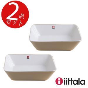 イッタラ(ティーマ) スクエアプレート ホワイト 16×16cm 2個セット|mutow