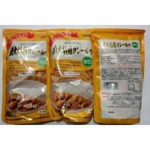 無添加 直火焙煎カレールゥ 【甘口】 170g(6〜8皿)×3袋|mutumiya-web