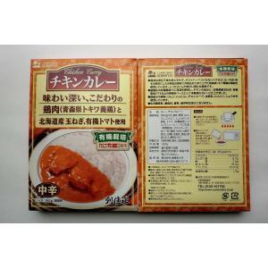 無添加 チキンカレー中辛(レトルト) 180g(一人分)×2箱|mutumiya-web