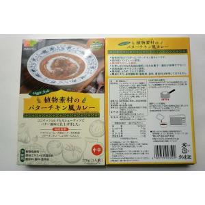 無添加 植物素材のバターチキン風カレー【中辛】レトルト170g(一人分)×2箱|mutumiya-web