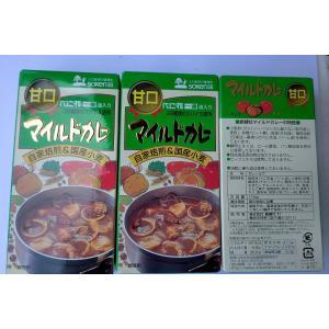無添加 マイルドカレールゥ【甘口】辛味袋付き 115g×3袋|mutumiya-web