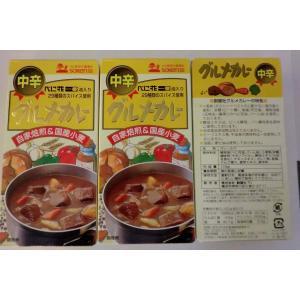 無添加 グルメカレールゥ【中辛】115g×3袋|mutumiya-web