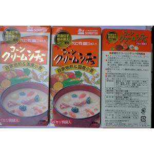 無添加 コーンクリームシチュールゥ 115g×3袋|mutumiya-web