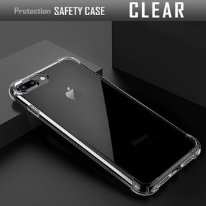 iPhone8 ケース ソフト 耐衝撃 アイフォン8 フィルム付|muuk-shop|11