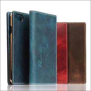 iPhone8 iPhone7 ケース 手帳型 SLG Design Badalassi Wax case(エスエルジーデザイン バダラッシーワックスケース)|muuk-shop