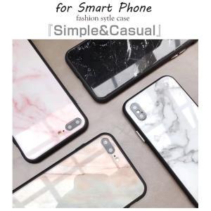 iPhone7 ケース iPhone8Plus ケース  iphone8 plus ケース アイフォン8 プラス ケース 大理石/強化ガラス付|muuk-shop|02
