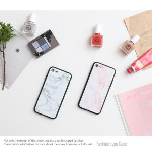 iPhone7 ケース iPhone8Plus ケース  iphone8 plus ケース アイフォン8 プラス ケース 大理石/強化ガラス付|muuk-shop|11