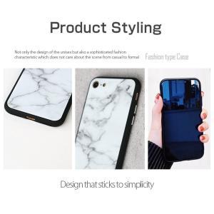 iPhone7 ケース iPhone8Plus ケース  iphone8 plus ケース アイフォン8 プラス ケース 大理石/強化ガラス付|muuk-shop|12
