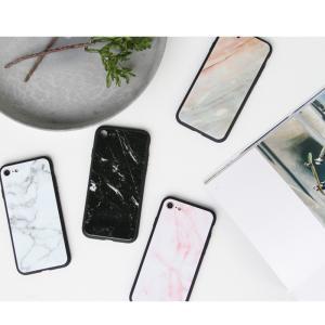 iPhone7 ケース iPhone8Plus ケース  iphone8 plus ケース アイフォン8 プラス ケース 大理石/強化ガラス付|muuk-shop|13