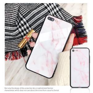 iPhone7 ケース iPhone8Plus ケース  iphone8 plus ケース アイフォン8 プラス ケース 大理石/強化ガラス付|muuk-shop|04