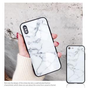 iPhone7 ケース iPhone8Plus ケース  iphone8 plus ケース アイフォン8 プラス ケース 大理石/強化ガラス付|muuk-shop|05