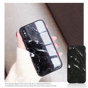 iPhone7 ケース iPhone8Plus ケース  iphone8 plus ケース アイフォン8 プラス ケース 大理石/強化ガラス付|muuk-shop|07