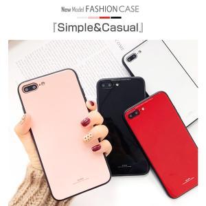 iPhone8 ケース iPhone7 ケース アイフォン8  薄型 背面ガラス|muuk-shop|02